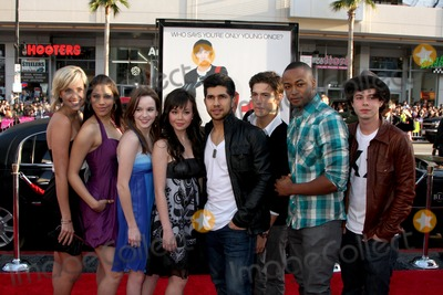 Anna Maria Perez, Anna Maria Perez de Tagle, Asher Book, Collins Pennie, Kay Panabaker, Kherington Payne, Paul Iacono, Walter Perez, Kristy Flores, Anna Maria Perez de Taglé, Hüsker Dü, Isaach De Bankolé Photo - Fame Cast (2009) - Kherington Payne, Kristy Flores, Kay Panabaker, Anna Maria Perez de Tagle, Walter Perez, Asher Book, Collins Pennie, and Paul Iacono  arriving at the 17 Again Premiere at Grauman's Chinese Theater in Los Angeles, CA on April 14, 2009