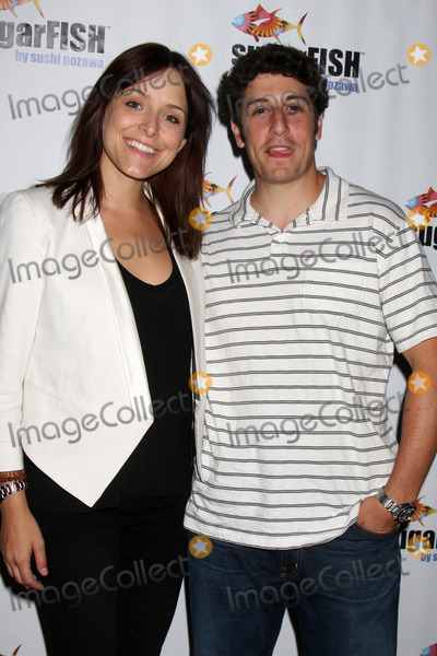 Jason Biggs, Jenny Mollen Photo - Jenny Mollen & Jason Biggs at the Grand Opening of his new resturant Sugarfish  in Brentwood, Los Angeles, CA on  July 26, 2009