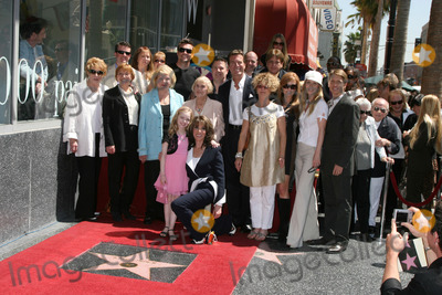 Kate Linder, Anne Nelson, Jeanne Cooper, John Fisher, Josh O'Connell, Kay Alden, Lee Phillip Bell, Peter Bergman, Tracey Bregman, Daniel Goddard, Darcy Rose, Darcy Rose Byrnes, Lauralee Bell, Rose Byrne, Tracey Bregman Recht, Tracey Bregman-Recht, Front Row, Bradley Bell, Jackée Photo - (Back row) woman in yellow is a mystery to both Kate and I, John Fisher