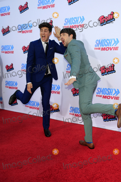 "Ian Hecox, Anthony Padilla Photo - LOS ANGELES - JUL 22:  Anthony Padilla, Ian Hecox at the ""SMOSH: THE MOVIE""  Premiere at the Village Theater on July 22, 2015 in Westwood, CA"