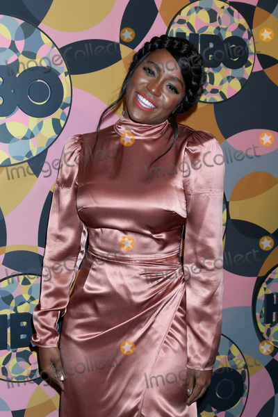 Photo - LOS ANGELES - JAN 5:  Aja Naomi King at the 2020 HBO Golden Globe After Party at the Beverly Hilton Hotel on January 5, 2020 in Beverly Hills, CA