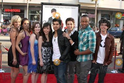 Anna Maria Perez, Anna Maria Perez de Tagle, Asher Book, Collins Pennie, Kay Panabaker, Kherington Payne, Paul Iacono, Walter Perez, Kristy Flores Photo - Fame Cast (2009) - Kherington Payne, Kristy Flores, Kay Panabaker, Anna Maria Perez de Tagle, Walter Perez, Asher Book, Collins Pennie, and Paul Iacono  arriving at the 17 Again Premiere at Grauman's Chinese Theater in Los Angeles, CA on April 14, 2009
