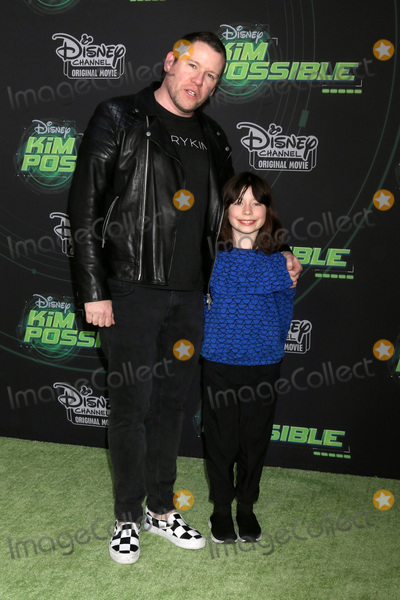"""Bill Horn, Simone Masterson-Horn Photo - LOS ANGELES - FEB 12:  Bill Horn, Simone Masterson-Horn at the """"Kim Possible"""" Premiere Screening at the TV Academy on February 12, 2019 in Los Angeles, CA"""