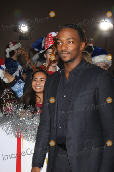 """Anthony Mackie Photo - LOS ANGELES - NOV 17:  Anthony Mackie at the """"The Night Before"""" LA Premiere at the The Theatre at The ACE Hotel on November 17, 2015 in Los Angeles, CA"""
