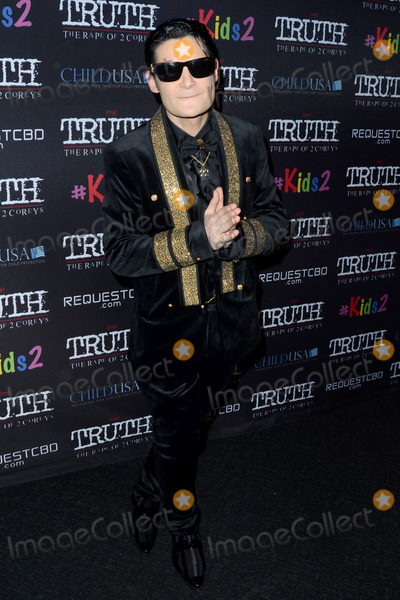 """Corey Feldman Photo - LOS ANGELES - MAR 9:  Corey Feldman at the """"(My) Truth: The Rape of 2 Coreys"""" L.A. Premiere at the DGA Theater on March 9, 2020 in Los Angeles, CA"""