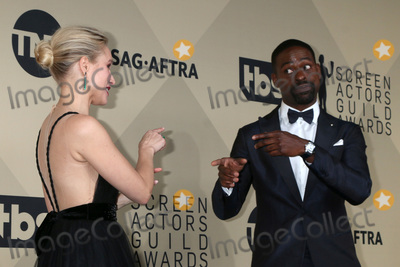 Kristen Bell Photo - LOS ANGELES - JAN 21:  Kristen Bell, Sterling K Brown at the 24th Screen Actors Guild Awards - Press Room at Shrine Auditorium on January 21, 2018 in Los Angeles, CA