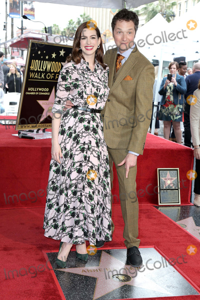 Anne Hathaway, Chris Addison, Ann Hathaway Photo - LOS ANGELES - MAY 9:  Anne Hathaway, Chris Addison at the Anne Hathaway Star Ceremony on the Hollywood Walk of Fame on May 9, 2019 in Los Angeles, CA