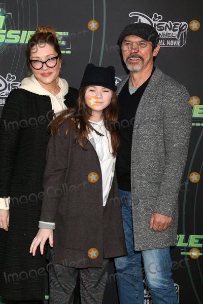 "Lou Diamond Phillips Photo - LOS ANGELES - FEB 12:  Yvonne Boismier Phillips, Indigo Phillips, Lou Diamond Phillips at the ""Kim Possible"" Premiere Screening at the TV Academy on February 12, 2019 in Los Angeles, CA"