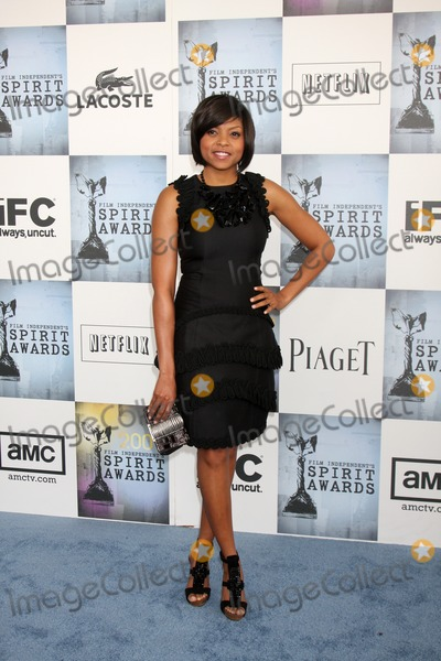 Taraji P Henson, Taraji P. Henson, Taraji Henson Photo - Taraji P. Henson   arriving at the  Film Indpendent's  24th Annual Spirit Awards on the beach in Santa Monica, CA  onFebruary 21, 2009