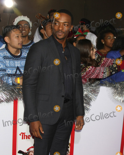 "Anthony Mackie Photo - LOS ANGELES - NOV 17:  Anthony Mackie at the ""The Night Before"" LA Premiere at the The Theatre at The ACE Hotel on November 17, 2015 in Los Angeles, CA"
