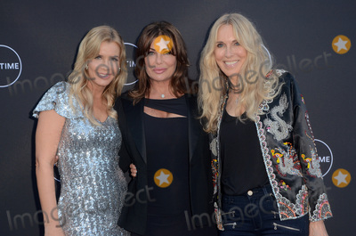 "Alana Stewart, Andrea Schroder, Kelly Le BROCK Photo - LOS ANGELES - AUG 16:  Andrea Schroder, Kelly Le Brock, Alana Stewart at the ""Growing Up Supermodel"" Premiere Screening at the Private Estate on August 16, 2017 in Studio City, CA"