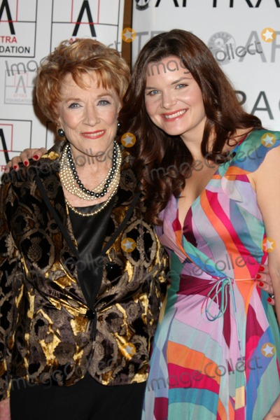 Heather Tom, Jeanne Cooper Photo - Jeanne Cooper & Heather Tom  arriving at the AFTRA Media & Entertainment Excellence Awards (AMEES) at the Biltmore Hotel in Los Angeles , CA on  March, 9 2009