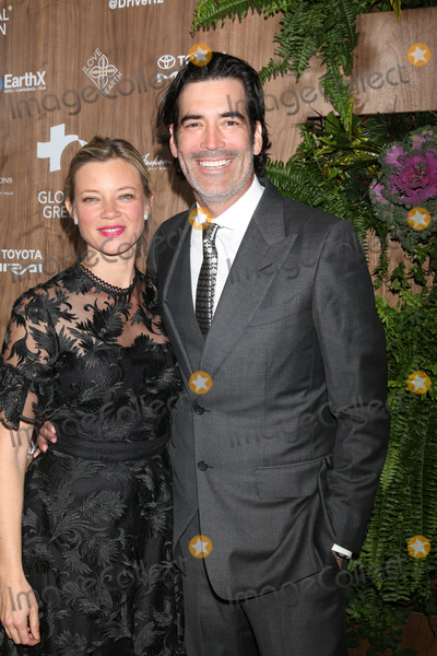 Amy Smart, Carter Oosterhouse, Four Seasons, The Four Seasons Photo - LOS ANGELES - FEB 20:  Amy Smart, Carter Oosterhouse at the Global Green 2019 Pre-Oscar Gala at the Four Seasons Hotel on February 20, 2019 in Beverly Hills, CA