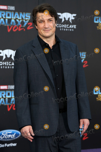 "Nathan Fillion Photo - LOS ANGELES - APR 19:  Nathan Fillion at the ""Guardians of the Galaxy Vol. 2"" Los Angeles Premiere at the Dolby Theater on April 19, 2017 in Los Angeles, CA"