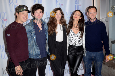 "Joseph Cross, Victoria Justice, Analeigh Tipton, Ian Nelson, Hayden Szeto Photo - LOS ANGELES - JUN 21:  Hayden Szeto, Ian Nelson, Analeigh Tipton, Victoria Justice, Joseph Cross at the ""Summer Night"" Screening at Rom Com Fest 2019 at the Downtown Independent Theater on June 21, 2019 in Los Angeles, CA"