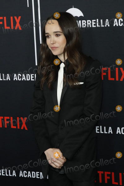 "Ellen Page Photo - LOS ANGELES - FEB 12:  Ellen Page at the ""The Umbrella Academy"" Premiere at the ArcLight Hollywood on February 12, 2019 in Los Angeles, CA"