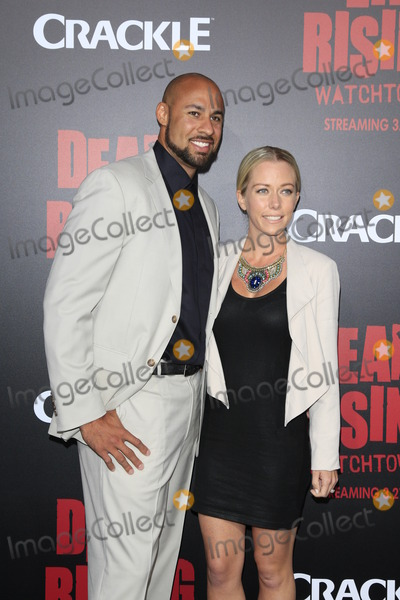 """Kendra Wilkinson, Kim Novak, The Dead, Hank Baskett Photo - LOS ANGELES - MAR 11:  Hank Baskett, Kendra Wilkinson at the """"Dead Rising: Watchtower"""" World Premiere at the Kim Novak Theater, Sony Studios on March 11, 2015 in Culver City, CA"""