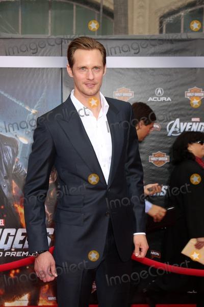 "Alexander Skarsgrd Photo - LOS ANGELES - APR 11:  Alexander Skarsgrd arrives at ""The Avengers"" Premiere at El Capitan Theater on April 11, 2012 in Los Angeles, CA"