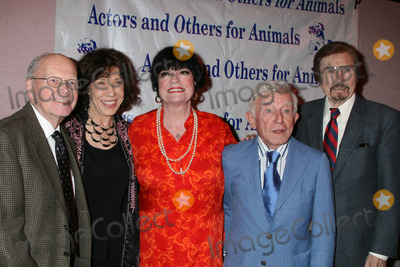 Arte Johnson, Carol Channing, Gary Owens, Jo Anne Worley, Lily Tomlin, Jo Ann Worley, Gary Owen, The Actor Photo - ?, Lily Tomlin, Jo Anne Worley, Arte  Johnson, and Gary Owens at  the Actors & Others for Animals Roast of Carol Channing at the Universal Hilton Hotel in Los Angeles, CA on 