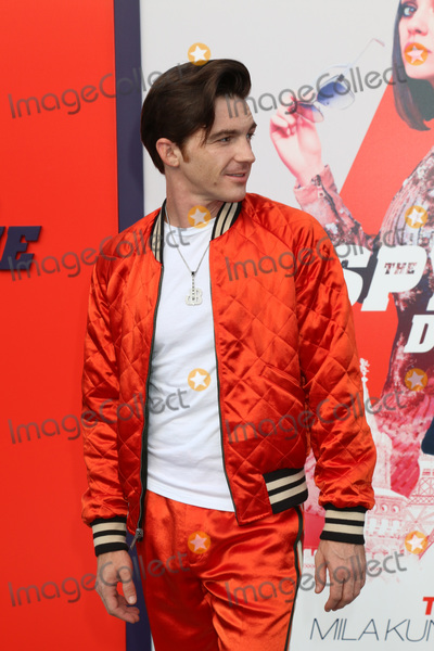"""Drake, Drake Bell Photo - LOS ANGELES - JUL 25:  Drake Bell at """"The Spy Who Dumped Me"""" Premiere at the Village Theater on July 25, 2018 in Westwood, CA"""