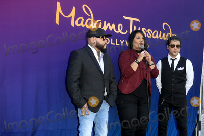 A. B. Quintanilla, A.B. Quintanilla, AB Quintanilla, Chris Perez Photo - LOS ANGELES - AUG 30:  A.B. Quintanilla, Suzette Quintanilla, Chris Perez at the Selena Quintanilla Wax Figure Unveiling at the Madame Tussauds Hollywood on August 30, 2016 in Los Angeles, CA