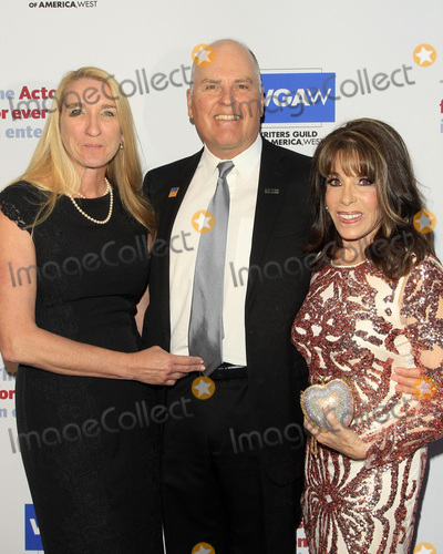 Kate Linder, Jeff Austin, Jane Austin, The Actor Photo - LOS ANGELES - JUN 11:  Jane Austin, Jeff Austin, Kate Linder at the Actors Fund's 21st Annual Tony Awards Viewing Party at the Skirball Cultural Center on June 11, 2017 in Los Angeles, CA