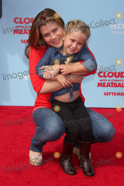 "Alison Sweeney Photo - LOS ANGELES - SEP 21:  Alison Sweeney, Megan Hope Sanov at the ""Cloudy With A Chance of Meatballs 2"" Los Angeles Premiere at Village Theater on September 21, 2013 in Westwood, CA"