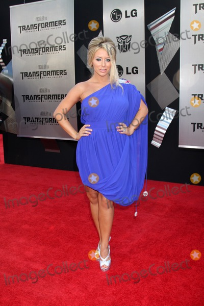 "Aubrey O'Day, The Fallen Photo - Aubrey O'Day  arriving at the ""Transformers: Revenge of the Fallen"" Premiere at the Mann's Village Theater in Westwood, CA  on June 22, 2009."