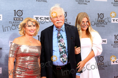 """Ted Turner Photo - LOS ANGELES - APR 11:  Guest, Ted Turner, grandaughter at the 2019 TCM Classic Film Festival Gala - """"When Harry Met Sally"""" at the TCL Chinese Theater IMAX on April 11, 2019 in Los Angeles, CA"""