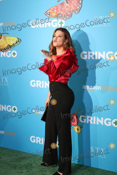 """Alicia Machado Photo - LOS ANGELES - MAR 6:  Alicia Machado at the """"Gringo"""" Premiere at Regal LA Live on March 6, 2018 in Los Angeles, CA"""