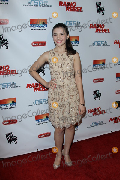 "Ana Golja Photo - LOS ANGELES - FEB 15:  Ana Golja arrives at the ""RADIO REBEL"" Telefilm Premiere at the AMC CityWalk Stadium 19 on February 15, 2012 in Los Angeles, CA"