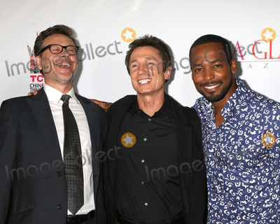 """Anthony Montgomery, Connor Trinneer, Dominic Keating Photo - LOS ANGELES - SEP 7:  Connor Trinneer, Dominic Keating, Anthony Montgomery at the """"UNBELIEVABLE!!!!!"""" Premiere at the TCL Chinese 6 Theaters on September 7, 2016 in Los Angeles, CA"""