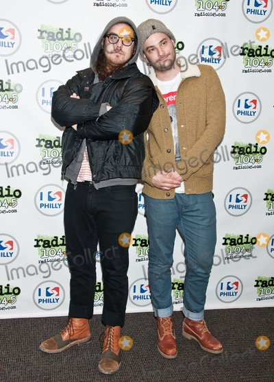 Dale Earnhardt, Dale Earnhardt Jr., Dale Earnhardt, Jr. Photo - BALA CYNWYD, PA - MARCH 24: (L to R) Daniel Zott and Joshua Epstein of American Indie Pop Band Dale Earnhardt Jr. Jr. Pose at Radio 104.5's Performance Theatre on March 24, 2014 in Bala Cynwyd, Pennsylvania. (Photo by Paul J. Froggatt/FamousPix)