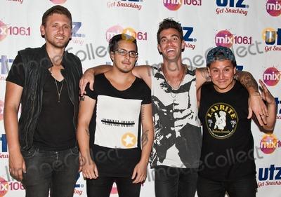 American Authors Photo - CAMDEN, NJ - JUNE 28: American Alternative Rock Band American Authors Pose at Mix 106's Summer Jam at Susquehanna Bank Center on June 28, 2014 in Camden, New Jersey. (Photo by Paul J. Froggatt/FamousPix)