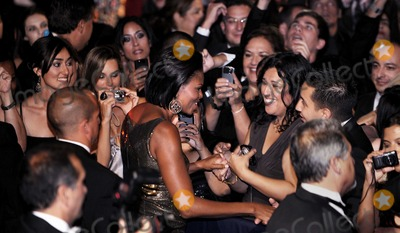 First Lady Michelle Obama, Michelle Obama Photo - First Lady Michelle Obama greets guest at the Congressional Hispanic Caucus Institute's 33rd Annual Awards Gala at the Washington Convention Center in Washington D.C., Wednesday, September 15 2010.