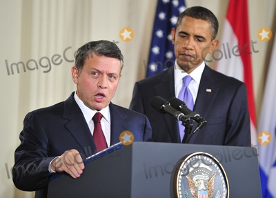 Abdullah II of Jordan, Barack Obama, King Abdullah, King Abdullah II of Jordan, President Barack Obama, White House, The White Photo - Peace Talks8249.JPG