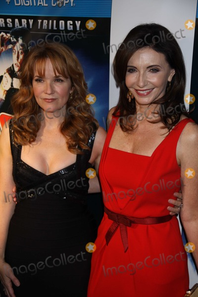 Lea Thompson, Mary Steenburgen Photo - New York, NY10-25-10Mary Steenburgen Lea Thompsonat  Back to the Future 25th Anniversay  TrilogyBlu Ray Release Party at Guatavino's Photo By Maggie Wilson-PHOTOlink.net