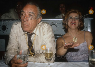 Anthony Quinn Photo - Anthony Quinn1379.JPG1981 FILE PHOTONew York, NYAnthony Quinn & wife YolandaPhoto by Adam Scull/PHOTOlink.net917-754-8588 - eMail: adamcopyrightphotolink.nethttp://PHOTOlink.net