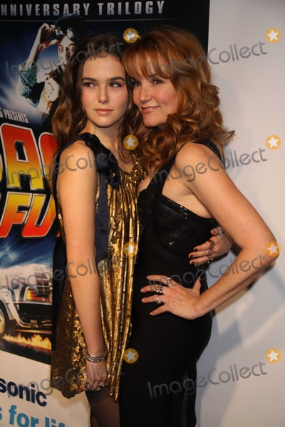 Lea Thompson Photo - New York, NY10-25-10Lea Thompson  and Daughter Zoeat  Back to the Future 25th Anniversay  TrilogyBlu Ray Release Party at Guatavino's Photo By Maggie Wilson-PHOTOlink.net