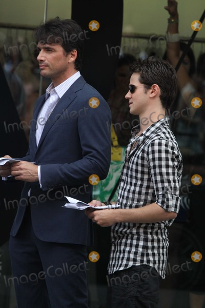 Connor Paolo, Matthew Settle Photo - New York, NY 7-15-10Connor Paolo Matthew Settleon the set of Gossip Girl  on 14st and 10avePhoto By Maggie Wilson-PHOTOlink.net