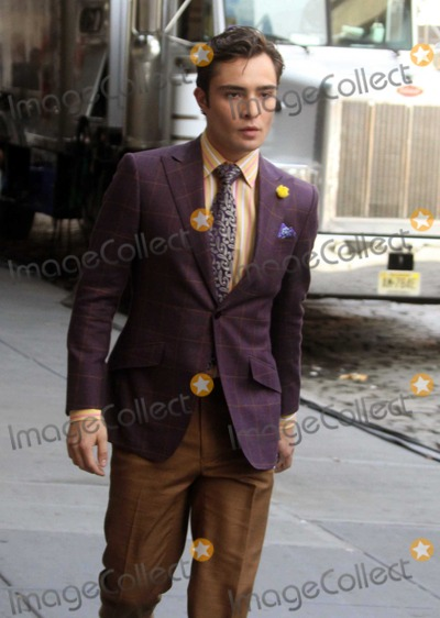Ed Westwick Photo - New York, NY 7-15-10Ed Westwickon the set of Gossip Girl  on 14st and 10avePhoto By Maggie Wilson-PHOTOlink.net
