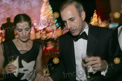 Matt Lauer, Annette Roque, Annette Roque Lauer Photo - New York, NY 11-28-2005 Unicef Ambassador Annette Roque Lauer  and her husband NBC Today Show Anchor Matt Lauer at the 2nd Annual UNICEF Snowflake Ball Digital Photo by David Westerley-PHOTOlink.net