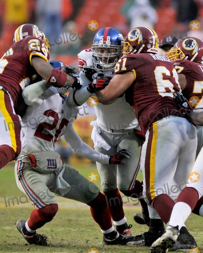 Antonio Pierce, Casey Rabach, Clinton Portis, Michael Johnson, Randy Thomas Photo - RESTRICTED: NO NEW YORK OR NEW JERSEY NEWSPAPERS WITHIN A 75 MILE RADIUS OF NYC.