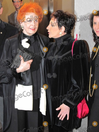 Arlene Dahl, Liza Minelli, Liza Minelli Photo - New York, NY 11/16/10