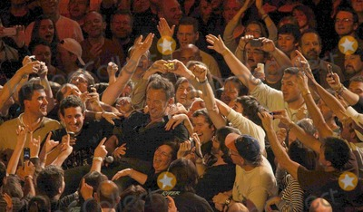 Bruce Springsteen, E Street Band, The E Street Band Photo - New York 11-8-09Bruce Springsteen and the E Street Band at Madison Square GardenDigital photo by Maggie Wilson-PHOTOlink.net
