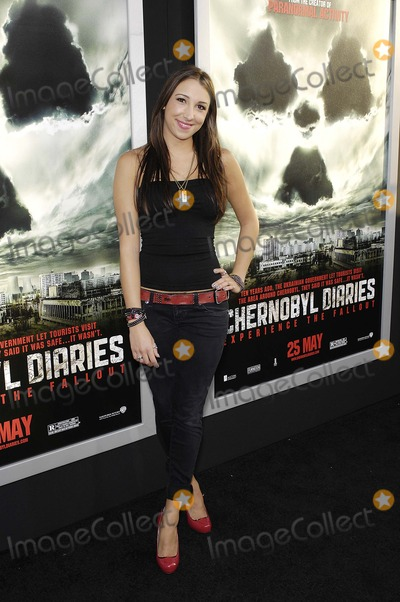 Ashley Edner Photo - Ashley Edner during the premiere of the new movie from Warner Bros. Pictures CHERNOBYL DIARIES, held at the Arclight Cinerama Dome, on May 23, 2012, in Los Angeles.Photo: Michael Germana Star Max