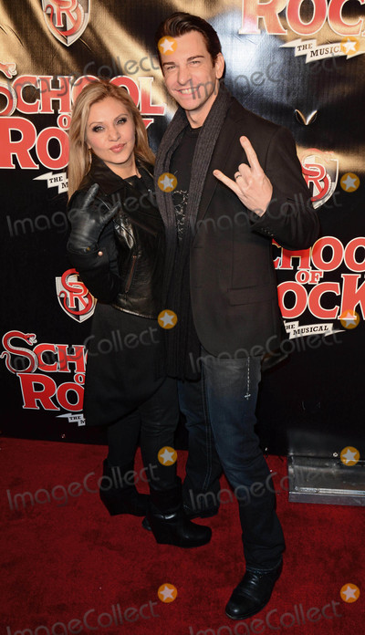 Andy Karl, Orfeh Photo - Photo by: Patricia Schlein/starmaxinc.comSTAR MAX2015ALL RIGHTS RESERVEDTelephone/Fax: (212) 995-119612/6/15Orfeh and Andy Karl at The School of Rock Broadway Opening Night.