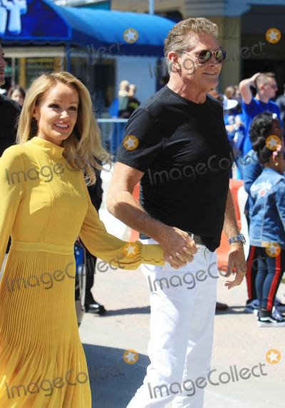 David Hasselhoff, Hayley Roberts Photo - Photo by: SMXRF/starmaxinc.comSTAR MAX2018ALL RIGHTS RESERVEDTelephone/Fax: (212) 995-11969/22/18David Hasselhoff and wife, Hayley Roberts are seen in Los Angeles, CA.