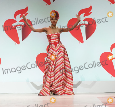 Ashleigh Murray Photo - Photo by: zz/John Nacion/starmaxinc.comSTAR MAXCopyright 2019ALL RIGHTS RESERVEDTelephone/Fax: (212) 995-11962/7/19Ashleigh Murray on the runway at The American Heart Association's Go Red For Women Red Dress Collection Fashion Show during New York Fashion Week in New York City.(NYC)