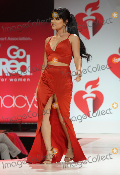 Becky G, Becky G. Photo - Photo by: zz/John Nacion/starmaxinc.comSTAR MAXCopyright 2019ALL RIGHTS RESERVEDTelephone/Fax: (212) 995-11962/7/19Becky G on the runway at The American Heart Association's Go Red For Women Red Dress Collection Fashion Show during New York Fashion Week in New York City.(NYC)